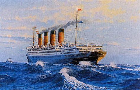 Rms Aquitania Sister Ship Of The Mauretania And The