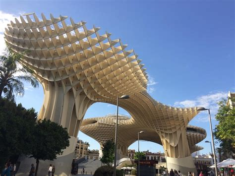 A Visit To The Metropol Parasol In Seville Spain