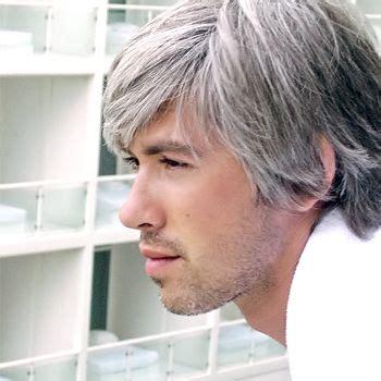color mens grey hair fashion central