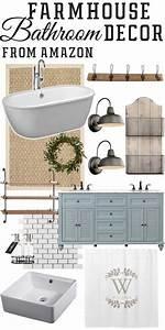Fixer Upper Badezimmer : amazon farmhouse inspired bathroom finds farmhouse fixer upper decor pinterest badezimmer ~ Orissabook.com Haus und Dekorationen