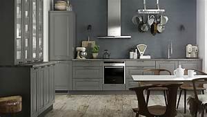 quelles couleurs pour les murs d39une cuisine aux meubles With quel mur peindre en fonce 16 quelle couleur mettre avec une cuisine grise