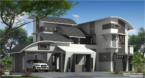 modern home plans modern contemporary home in kozhikode kerala home