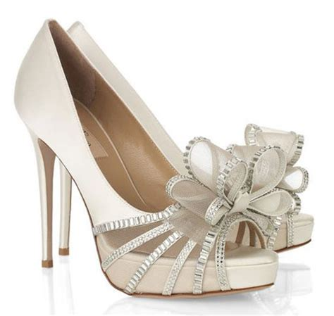 wedding shoes with bows bridal shoes archives gt