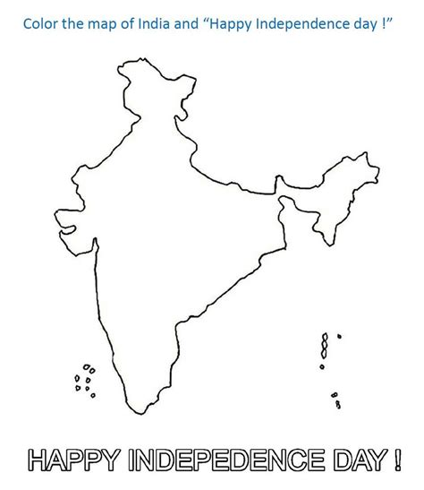 coloring pages map  india coloring printable page