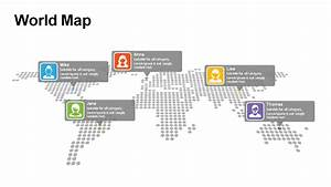 World Map Diagram Templates