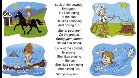 look at the cowboy song for children 161   maxresdefault