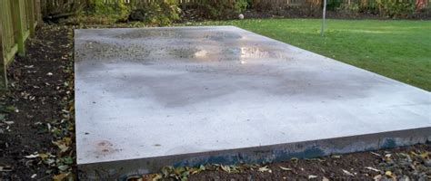 How To Lay Base For Shed by How To Lay The Concrete Shed Base
