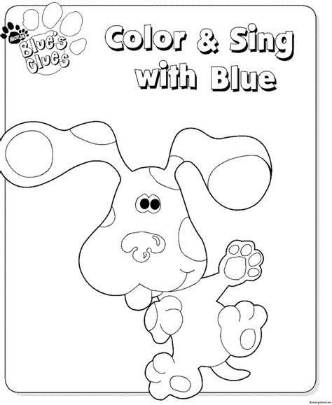 Blues Kleurplaat by Blues Clues Kleurplaten Kleurplaten Eu