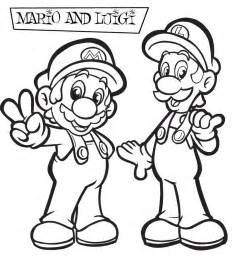 mairo coloring pages