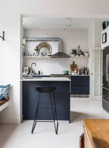 cuisine et blanc la tentation d 39 une cuisine bleue
