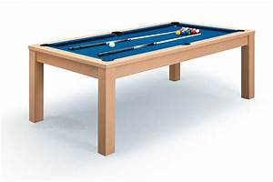 Billard table a manger chene billards defaistre for Table de billard transformable en table de salle a manger