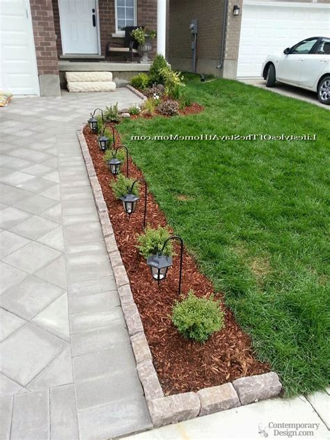 easy landscaping ideas for front of house easy landscaping ideas for front of house