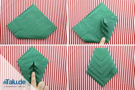 servietten tannenbaum falten anleitung serviette falten tannenbaum talu de