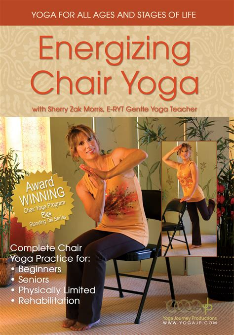 Chair For Seniors Dvd by Energizing Chair Dvd Yogajp