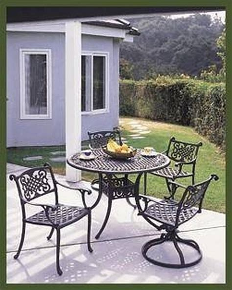 furniture patio rust remove paint aluminum metal cast clean removing hunker outdoor chairs garden lawn painted steel sealer