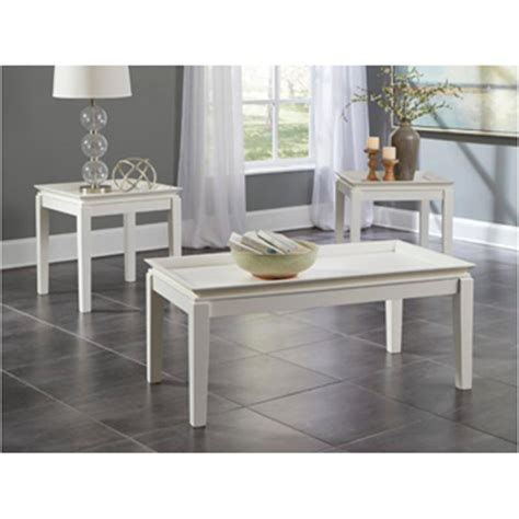 ashley furniture living room occasional table set