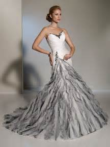 grey dresses for a wedding white silver fluted skirt wedding dress
