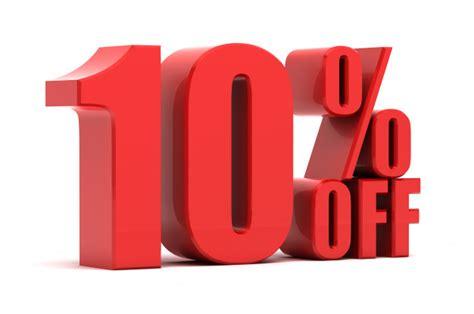Solo multiplica tu valor x por el valor de %. 10 por ciento de descuento en la promoción   Foto Premium
