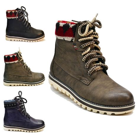 womens boots ladies  ankle winter snow boots shoes size