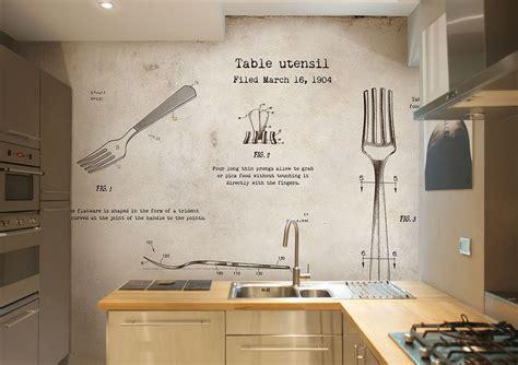 Tapete Küche Abwaschbar by Tapete F 252 R K 252 Che Ausw 228 Hlen 20 Ideen F 252 R Wandgestaltung