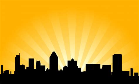 library  city night skyline svg royalty  library png files clipart art