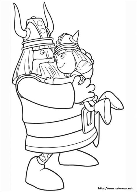 Drakenpoot Kleurplaat by Dibujos Para Colorear De El Vikingo