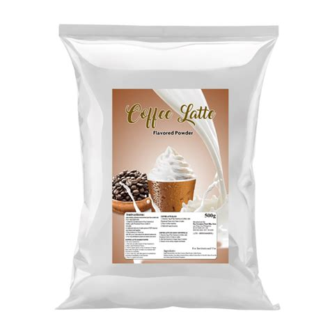 To get more templates about posters,flyers. Coffee Latte Powdered Flavor | MilkTeaMart