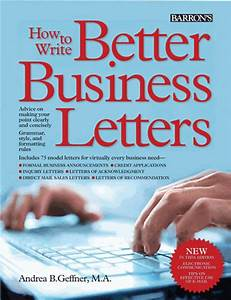 How to write better business letters newsouth books for Business letter book