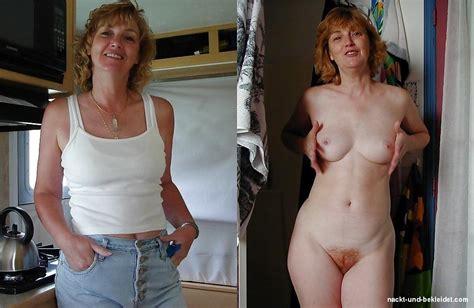 Bekleidet nackt und Bekleidete und