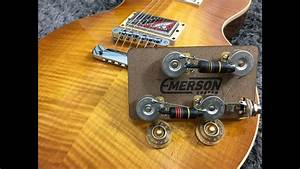 Emerson Custom Prewired Kit - Lespaul Long Shaft