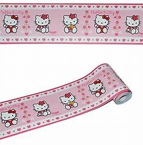 Kinderzimmer Bordüre Mädchen : 5 m bord re wandtattoo selbstklebend hello kitty wandsticker aufkleber kinderzimmer ~ Sanjose-hotels-ca.com Haus und Dekorationen