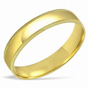 Men39s SOLID 10K Yellow Gold Wedding Band Engagement Ring