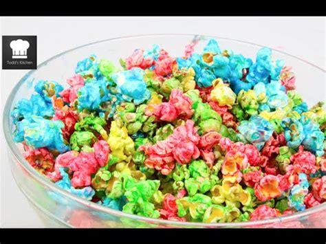 rainbow popcorn youtube
