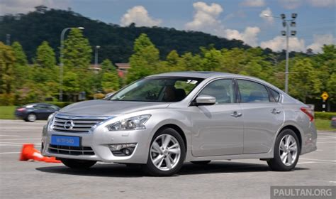 Review Nissan Teana by Driven 2014 Nissan Teana Ups The D Segment Ante
