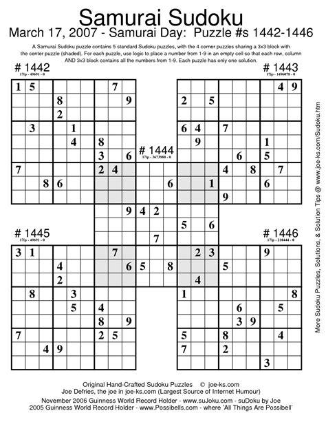 math sudoku worksheets worksheet mogenk paper works