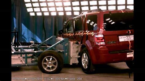 ford escape  side crash test nhtsa crashnet