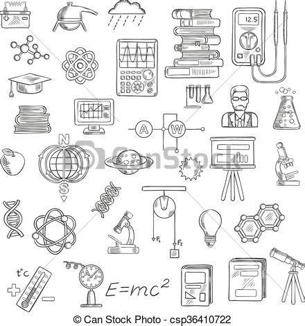 illustration vecteur de croquis science astromomie