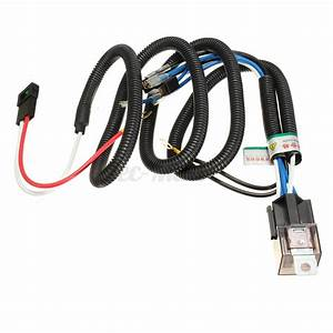 12v Electric Horn Relay Wiring Harness Kit For Grille