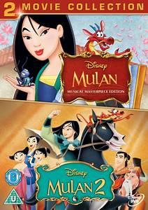 Mulan 1 and 2 DVD Zavvi com
