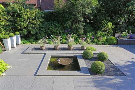 Wasserspiele Garten Terrassequellsteine Wasserspiele