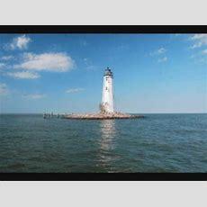 New Point Comfort Lighthouse, Chespeake Bay, Virginia Youtube