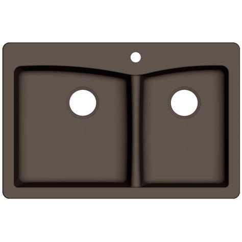 reviews of kitchen sinks pegasus saratoga dual mount granite composite 33 in 1 4844