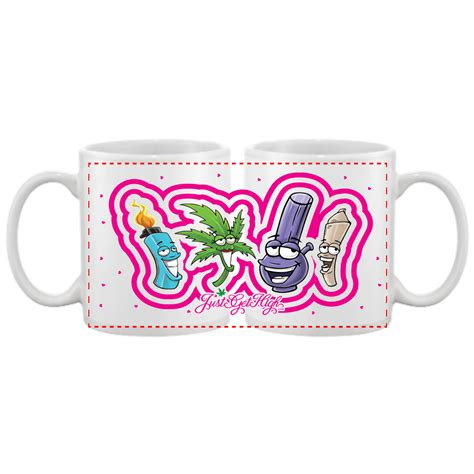 Custom 2020 arrivals creative wake and bake coffee mugs wake and bake smoke mug for smoking. COFFEE MUGS: BEST BUDS SET - Just Get High