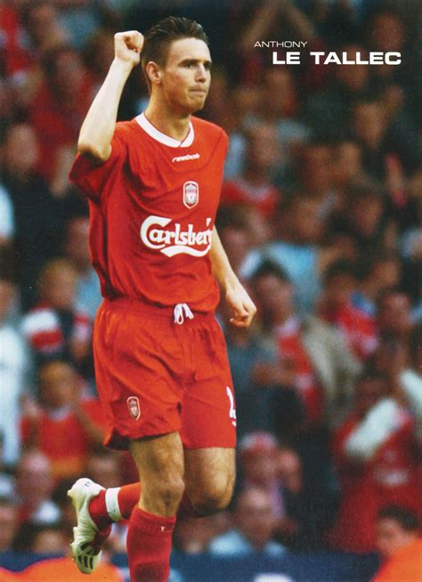 anthony le liverpool career stats for anthony le tallec lfchistory
