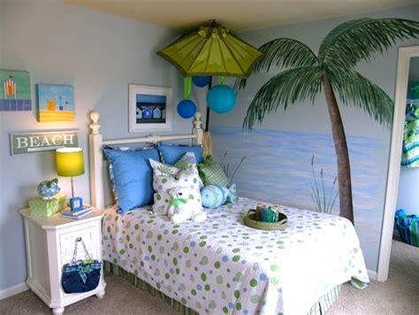 Girls' Beach Theme Bedroom