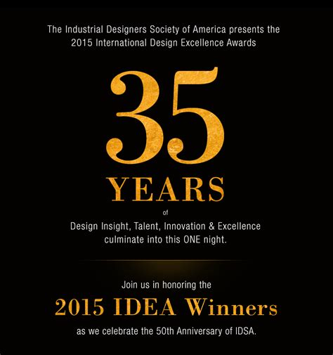 industrial designers society of america idea ceremony at idsa international conference