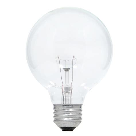 shop sylvania 3 pack 25 watt dimmable soft white g25