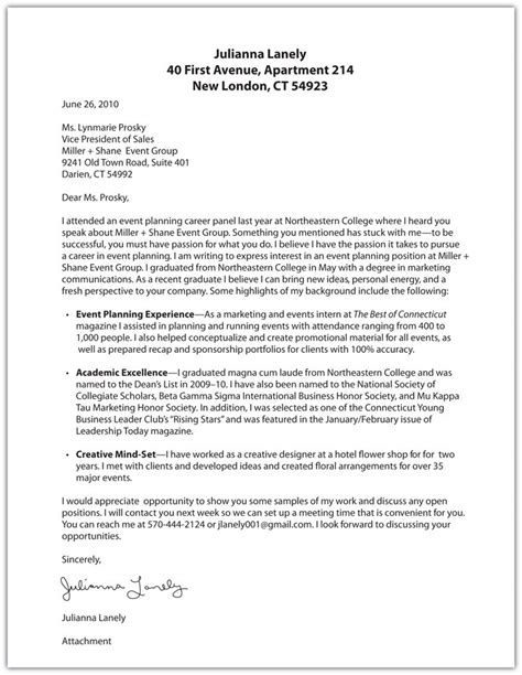 what a cover letter should look like project scope template