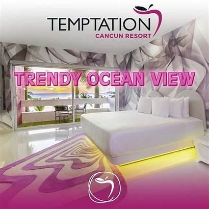 Ocean Trendy Cancun Temptation Resort Rooms