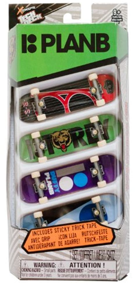 plan b tech decks 4 pack gagtoysy shop for novelty and toys